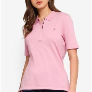 Tommy Hilfiger Pink Short Sleeve Polo Shirt